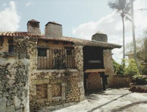 stylowa kamieniczka w Altos de Chavon