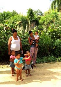 typowa dominikańska rodzina