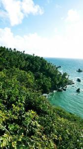 widok wschodni z Punta Balandra
