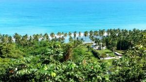 widok z Playa Coson